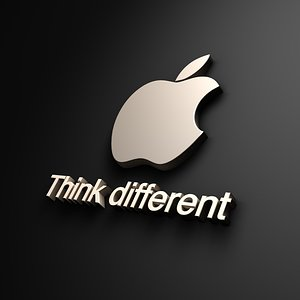 ThinkDifferent Apple 1280x800